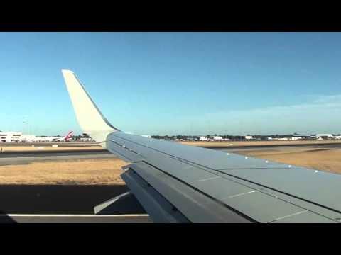 Qantas 737-800 QF576 Perth - Sydney