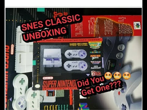 SNES Classic Edition Unboxing & Review | Nintendo Helping Scalpers?!  (Super Nintendo)