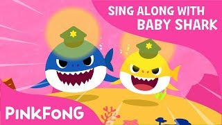 Police Sharks   Sing Along with Baby Shark   Pinkfong Songs for Children