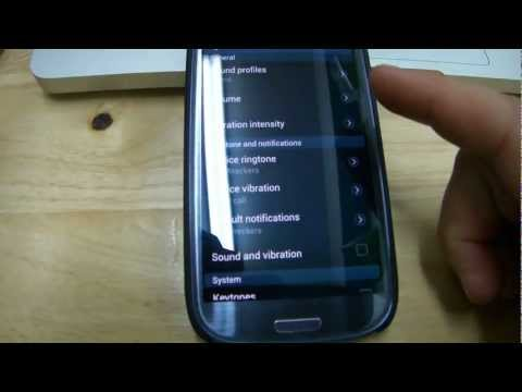 Android Jelly Bean! Ice Cream Sandwich ... How to add music to your Notification tones