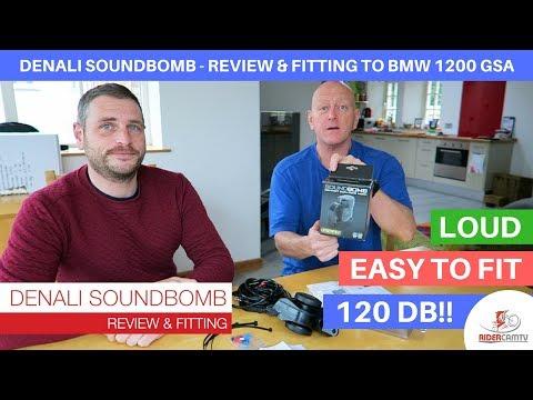 Denali Soundbomb - Fitting to a BMW 1200 GSA & Review