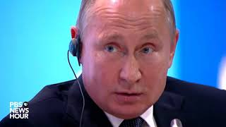 Download Putin on climate change and Trump's climate policy Video