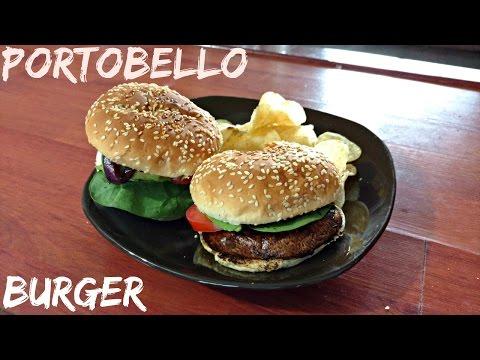 Portobello Mushroom Burger - Vegan!