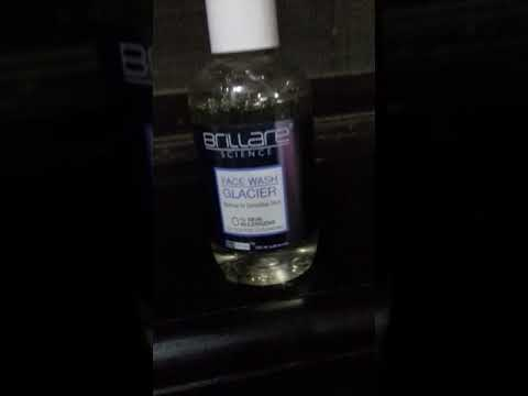Brillare science face wash
