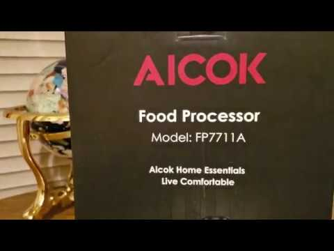 (Episode 2080) Amazon Prime Unboxing: Aicok 8-Cup Food Processor Meat Processor 2-Speed @amazon