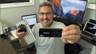 Mini PC  Windows 10 con teclado y Mouse inalámbrico