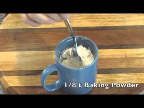 Microwave Mug Coffee Cake