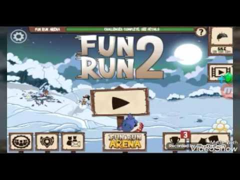 Playing fun run 2