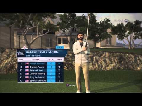 Tiger Woods 14 PS3 Career Part 3 - Q-School