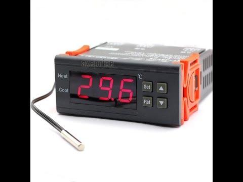 Incubator box using MH1210 digital temperature controller - simple wiring circuit