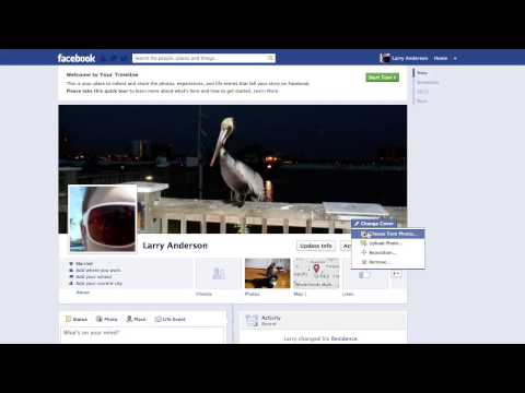How to Change Timeline Cover Photo on Facebook