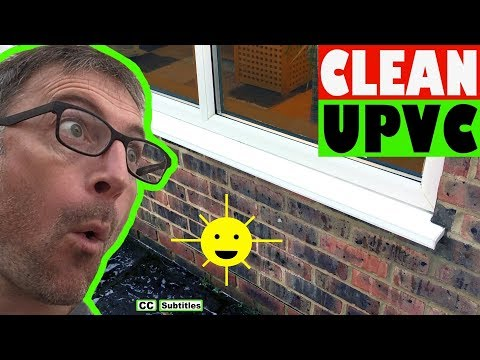 How to clean UPVC Window Frames so they stay Clean