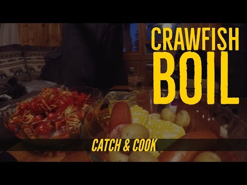 Catch and Cook Crawfish Boil Part 3 - That ish Cray