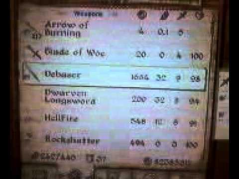 Elder Scrolls IV: Oblivion Glitches/tricks NO MOD