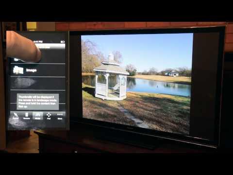 Stream Your Video From iPhone To Panasonic Viera Plasma TC-P55UT50