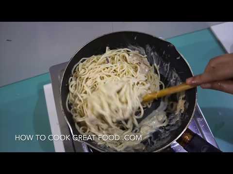 Tuna Cream Spaghetti Recipe - Quick n Easy Pasta