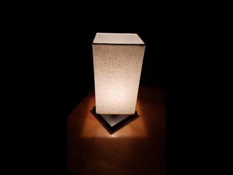 Finether Minimalist Novelty Romantic Wooden Table Lamp