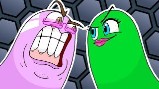 SLITHER.IO GONE WRONG! | Cartoon Animation