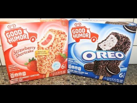 Good Humor: Strawberry Shortcake and Oreo Dessert Bar Review