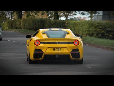 Supercars Leaving a Car Show - October 2018