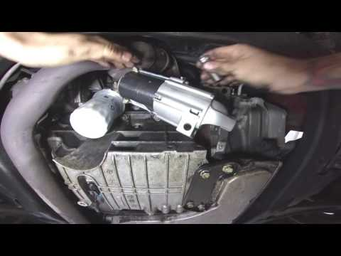 pontiac g6 starter replacment (also gm and chevy)