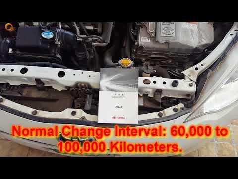 Toyota Aqua/Prius C Automatic Transmission Fluid (ATF WS) in URDU