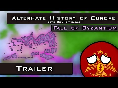 Alternate History of Europe with Countryballs | Fall of Byzantium | Trailer