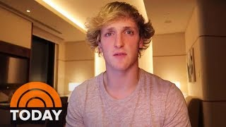 YouTube Star Logan Paul Apologizes For Video Of Apparent Suicide Victim | TODAY