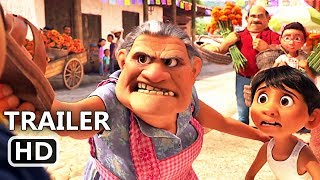 "COCO ""Grandma VS Mariachi"" Funny Movie Clip (2017) Disney Pixar Animation Movie HD"