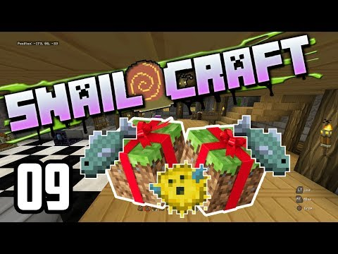 Snailcraft - 09 - Birthday Presents and Fishing!