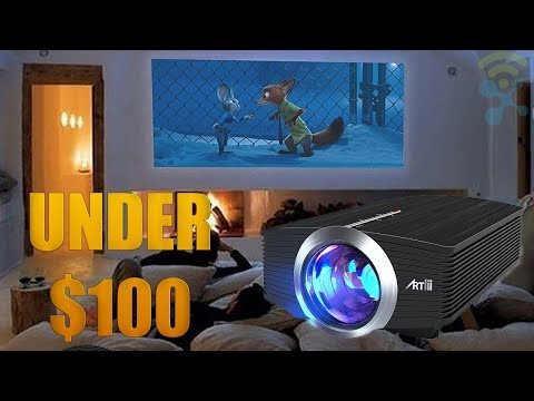 Top 5 Projectors 2018 : Best Home Theater Projectors (UNDER $100)