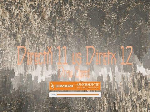 DirectX 11 vs DirectX 12. Draw Test | GTX 680