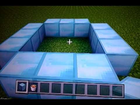 How to make a diamond end portal !!!!!!!