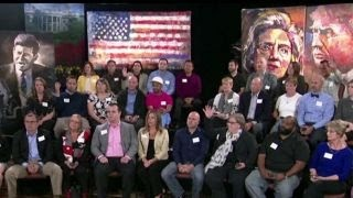 Undecided voters react to second presidential debate