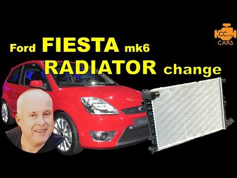 Ford Fiesta mk6 Radiator Change & Ford Fiesta Coolant Change - 02-08