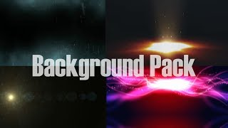 video background pack overlays, particles, shockwave, lights, flash, Sparkles, flare sony vegas