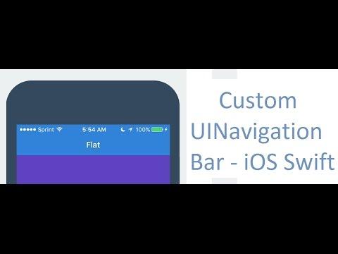 Custom Navigation Bar # Part - 1
