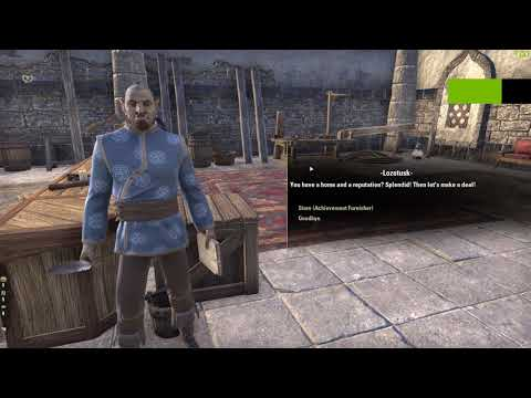 ESO - How to Make One Million Gold in 5 Seconds