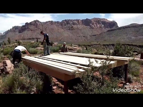 How to build a wood deck ANYWHERE!