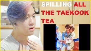 TAEKOOK / VKOOK 18+ Sexual Tension Reacting to Jungkook x