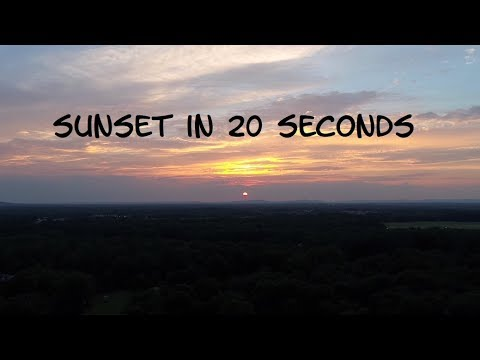 Sunset in 20 seconds