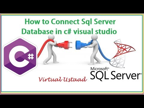 How to Connect Sql Server Database in C# visual studio | Latest Easy Method |