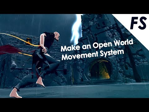 Create an Open World Movement System in Unity C#