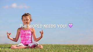 Feel Good Relax Music for Children ♫ Enhance Positive Energy & Feelings  Let Go of Negative Thinking