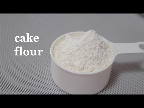 how to make cake flour at home/cake flour substitute--Cooking A Dream