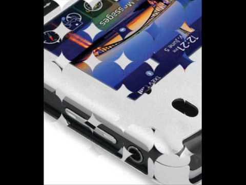 PDair Aluminum Metal Case for BlackBerry Tour 9630 (Silver)