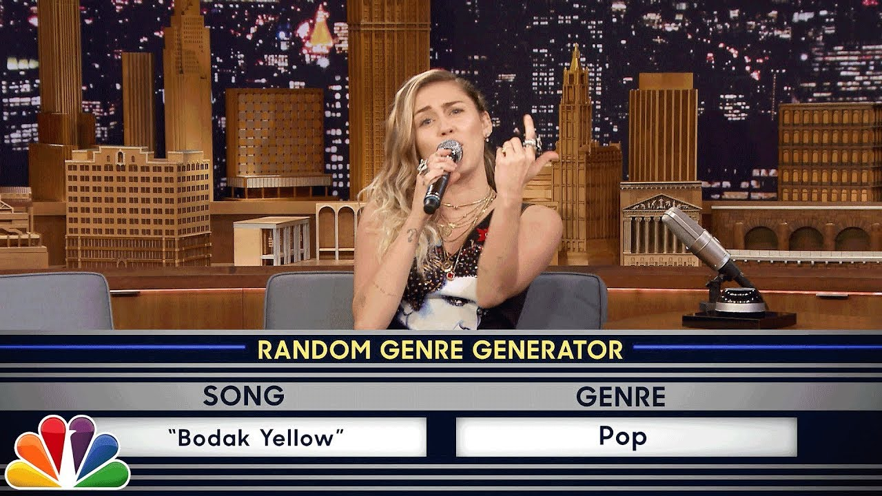 Musical Genre Challenge with Miley Cyrus