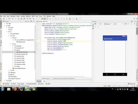 Using Ferris Wheel View library in Android Studio