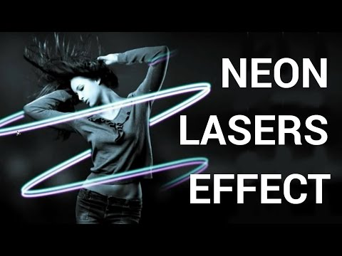 How to Make a Neon Lasers Effect in Adobe Photoshop