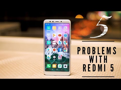 5 Problems with Redmi 5 | 5 Things I don't like about the Redmi 5(India)